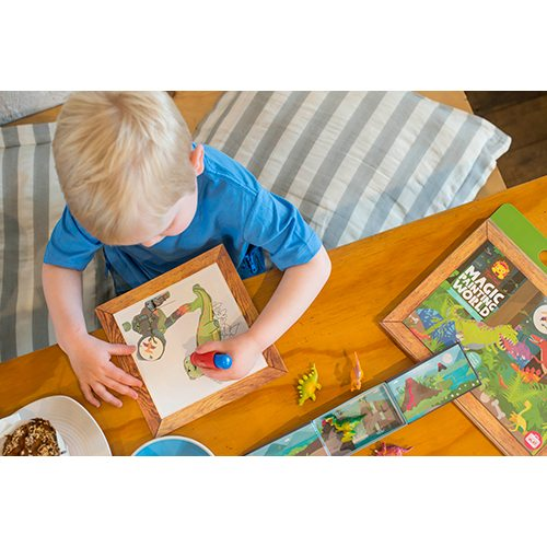Tiger Tribe World Activity Sets (Sticker World & Magic Painting World)