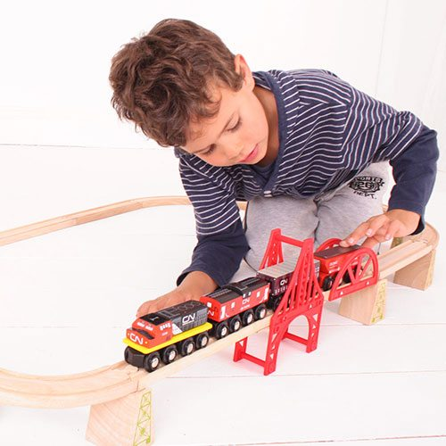 Big Jigs Wooden Trains