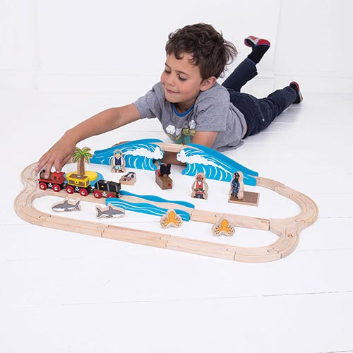 Big Jigs Wooden Train Sets