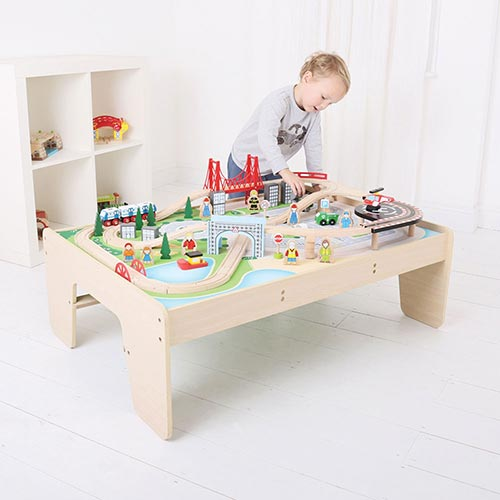 Big Jigs Wooden Train Tables