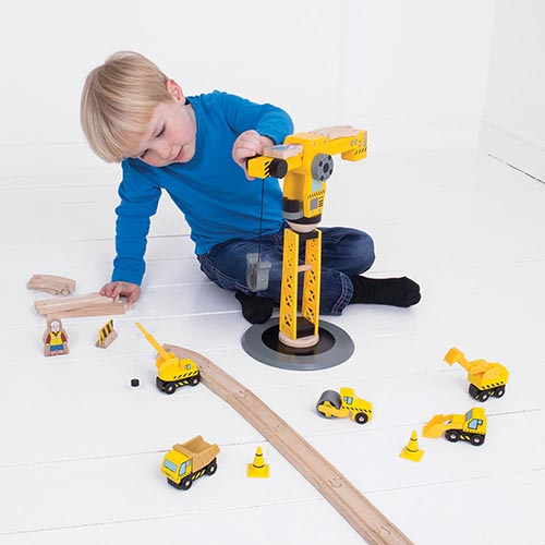 Big Jigs Wooden Train Track Accessories